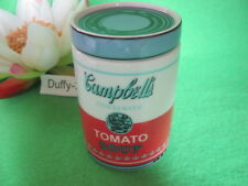 Dose 2 tlg 10 cm Campbell s Soup weiß /  Rot   Andy Warhol von  Rosenthal