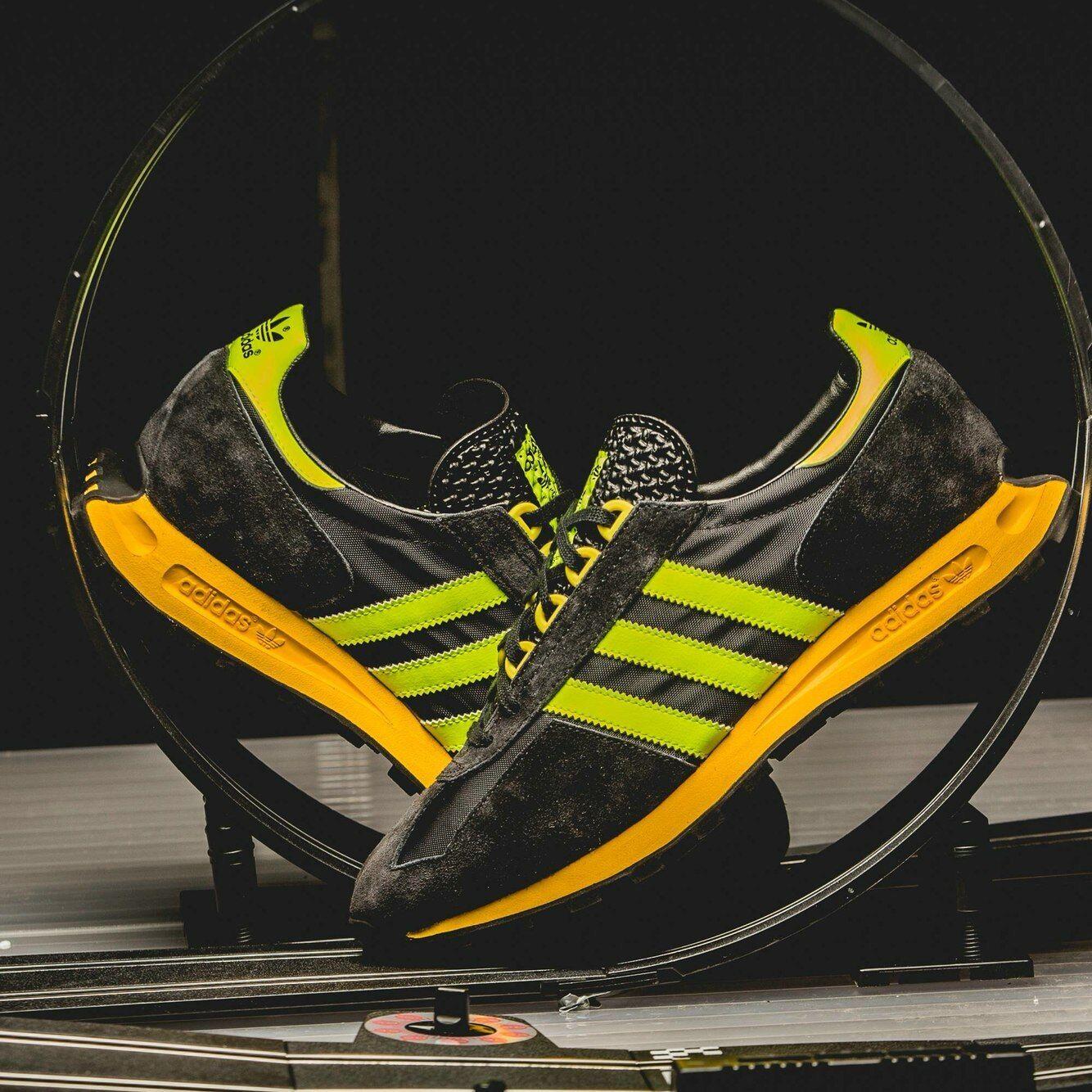 Adidas Originals RACING 1 Nero/Giallo le S79137 (tutte le Nero/Giallo dimensioni) Formel 1 OG Vintage 062bb0