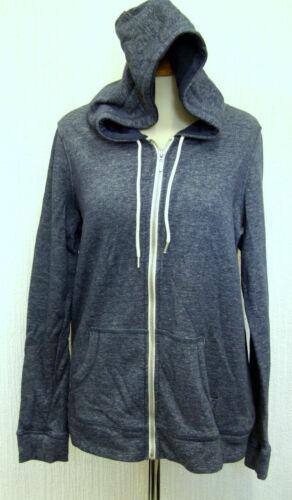 Ladies NEXT Size 10 Hoody//hoodie hooded warm winter jumper cotton rich Blue