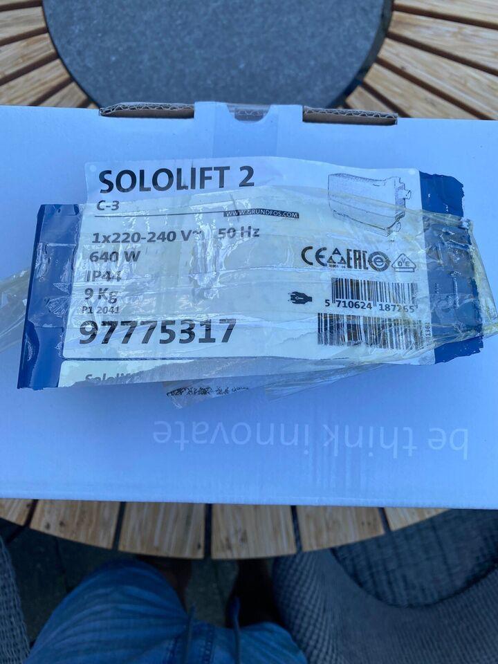 Sololift2 c3, Grundfos