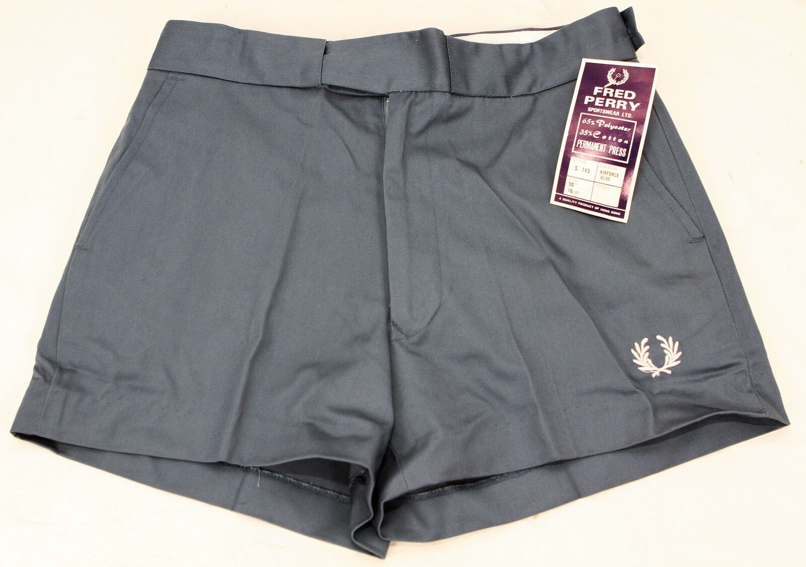 UNWORN Vintage 70s FRED PERRY  Tennis SHORTS  30