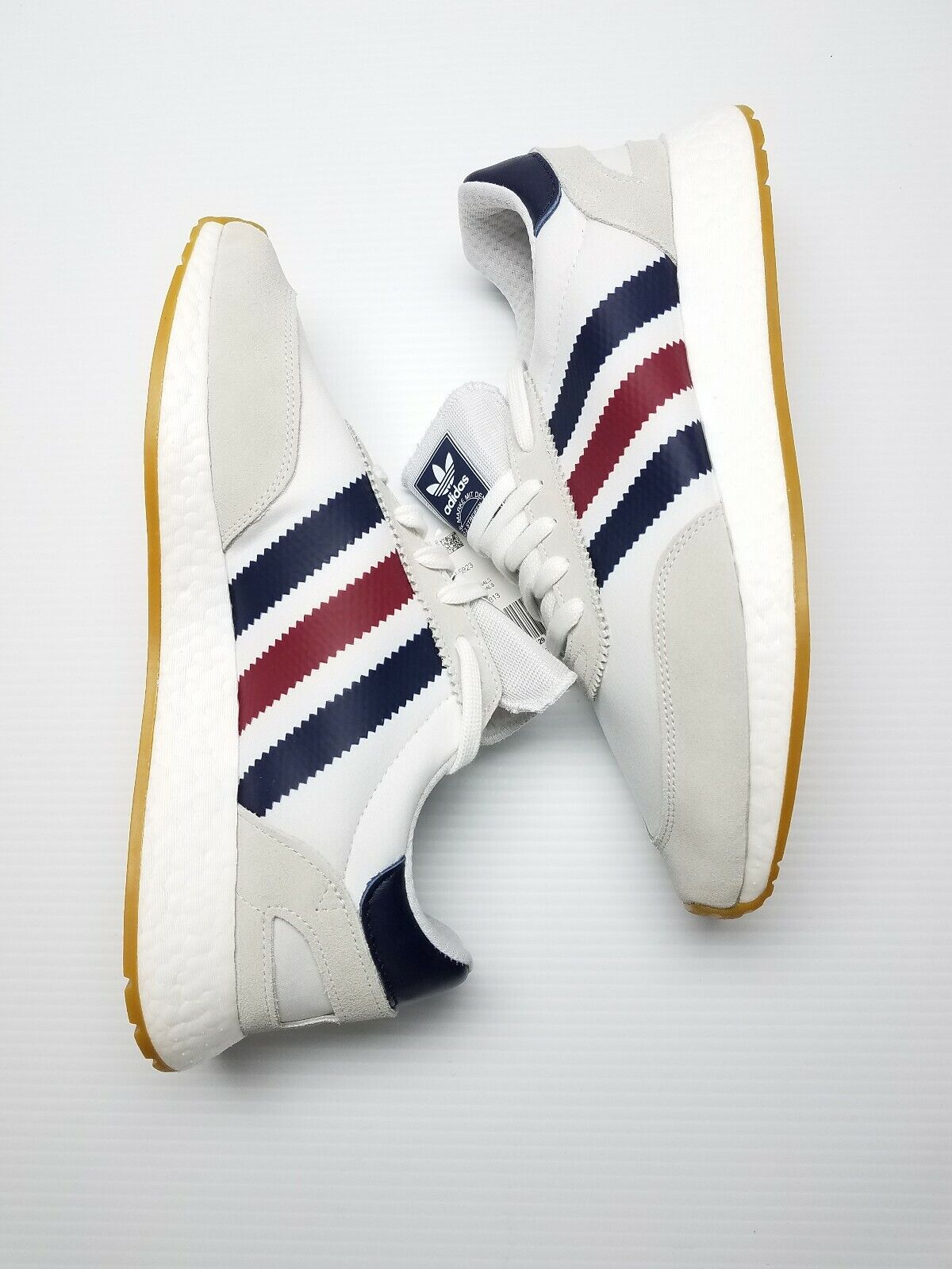 new product get online catch adidas I-5923 Iniki Boost Men's Running Shoes Size 11 White Bd7814 Retail