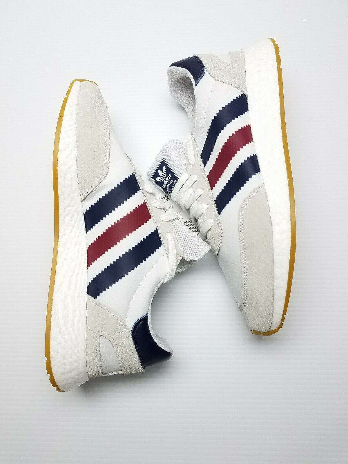 Adidas Iniki boost I-5923 BD7813 White Tri-color Men's Running shoes Sz 13