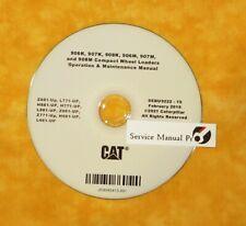 Sebu9222 Cat 906k 907k 908k 906m 907m 908m Loaders Operation Maintenance Manual