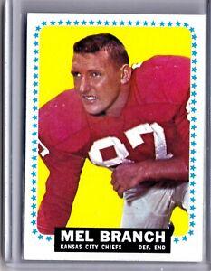1964-Topps-91-Mel-Branch-Chiefs-AVE-CSV-VINTAGE-NFL