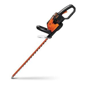 """WORX WG291 56V 24"""" Cordless Hedge Trimmer w/ Dual Action Blades & Hand Guard"""