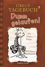 Dumm gelaufen! / Gregs Tagebuch Bd.7 von Jeff Kinney (2012, Gebundene Ausgabe)
