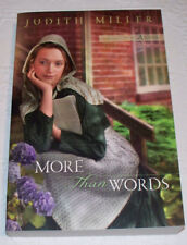Daughters of Amana: More Than Words Bk. 2 by Judith Miller (2010, Paperback)