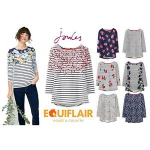 Joules-Harbour-Printed-3-4-Sleeve-Jersey-Top-SS19