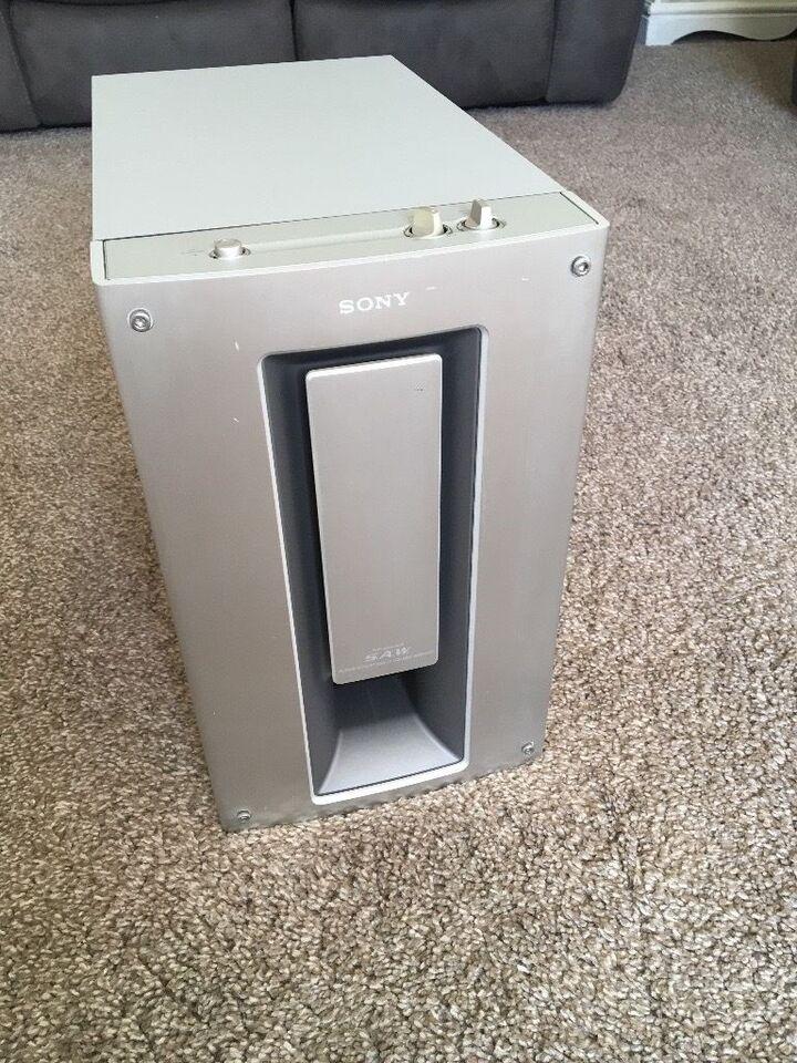 Højttaler, Sony, Sony SA-WMS7 Powered Active