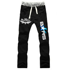 Anime Black Rock Shooter BRS cotton pants cosplay sports casual trousers S-XXL