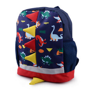 Details about Kids Toddler Dinosaur Cartoon Animal Backpack Child Boys  Girls School Bag Gift aeda843b4df61