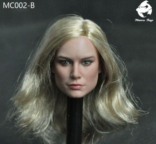 1//6 Captain Lady Head Sculpt Carved Model Manco MC002 Toys PVC Gift In Stock