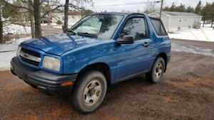 2000 chevy tracker 2WD