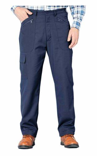 Mens Working Walking Cargo Combat Tough Work wear Trousers Pants W 30 to w 56