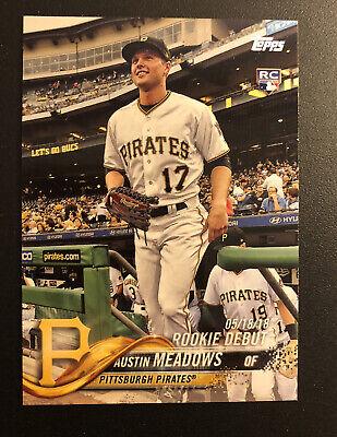 Austin Meadows Pirates #US130 Baseball 2018 TOPPS Update Series RC CARTE C2347