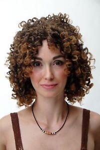Parrucca Da Donna Ricci Voluminoso Korkenzieherlocken Marrone