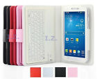 """PU Leather Bluetooth Keyboard Case Stand for Samsung Galaxy Tab S2 8.0""""/9.7"""""""