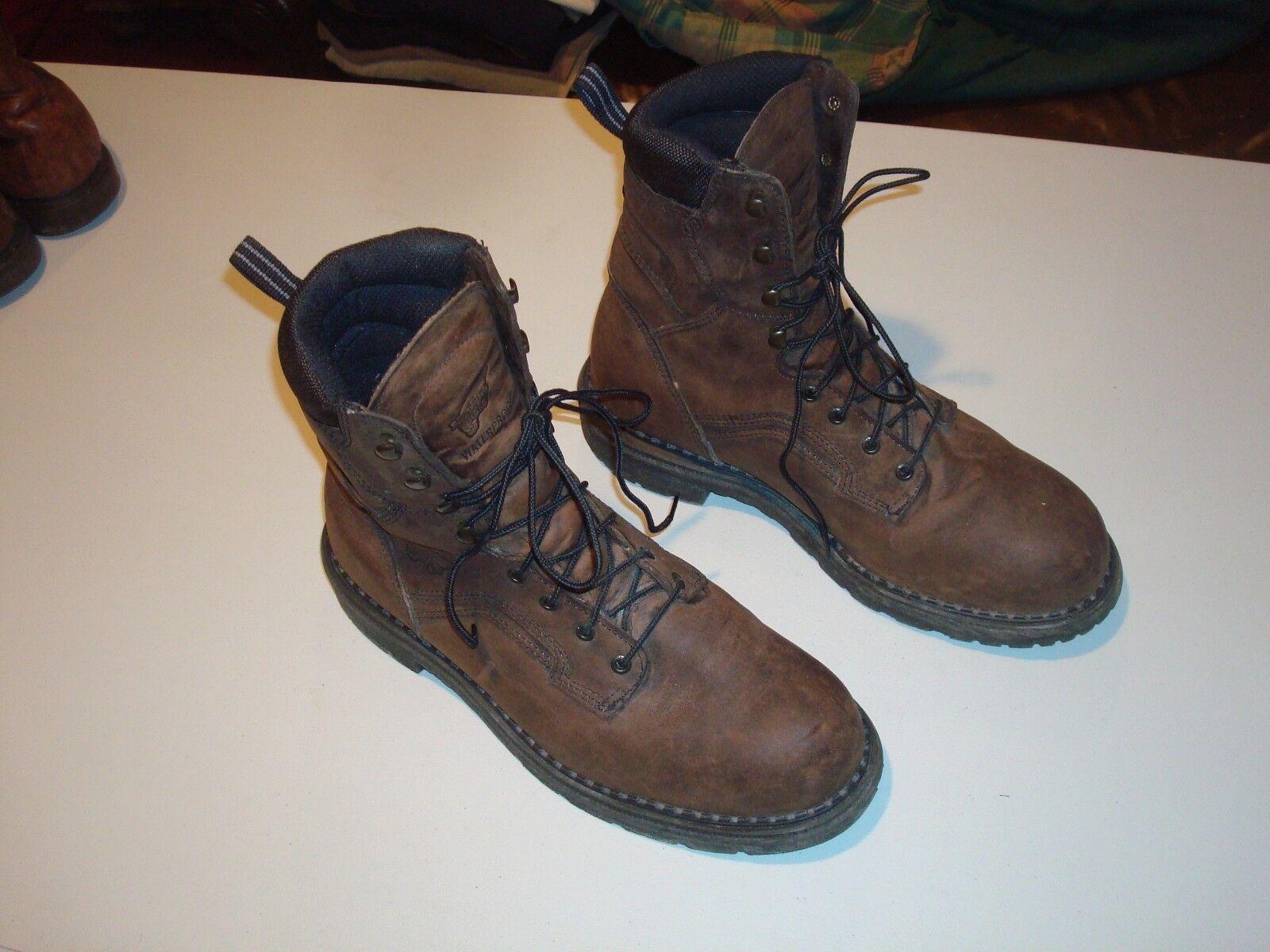 rot Wing Stiefel -  4414 - 12E - Steel Toe