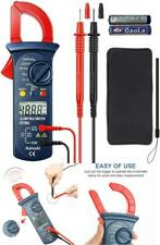 Digital Multimeter Fluke Meter Amp Ohm Voltmeter Autorange Tester Ac Dc Clamp