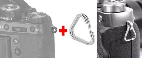 SPLIT TRIANGLE RING CAMERA STRAP ADATTO A NIKON D810 D610 D7100 D600 D800 Z7 Z50