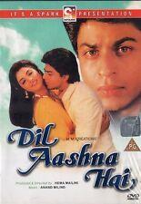 DIL AASHNA HAI -SPARK BOLLYWOOD DVD- Shahrukh Khan, Divya Bharati, DimpleKapadia