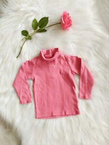 Tee-shirt manches longues sous-pull col roulé bébé fille 18 mois Vertbaudet