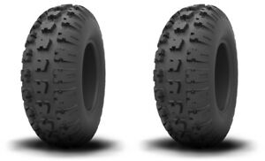 Pair 2 Kenda Kutter XC 19x6-10 ATV Tire Set 19x6x10 K580 19-6-10