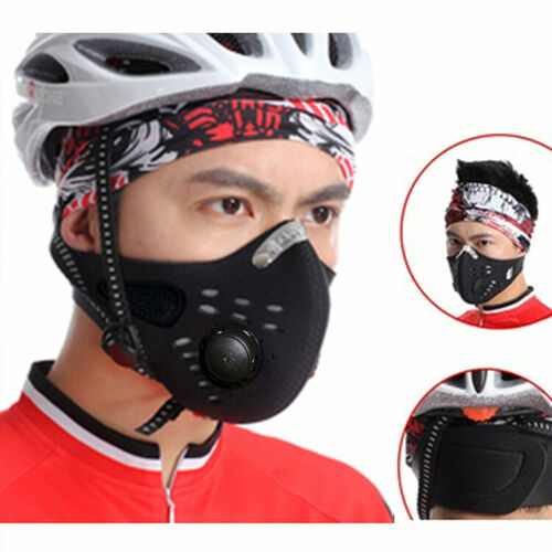 Cycling Half Face Shield Anti Dust Breathable Bike Riding Skiing Face Covers