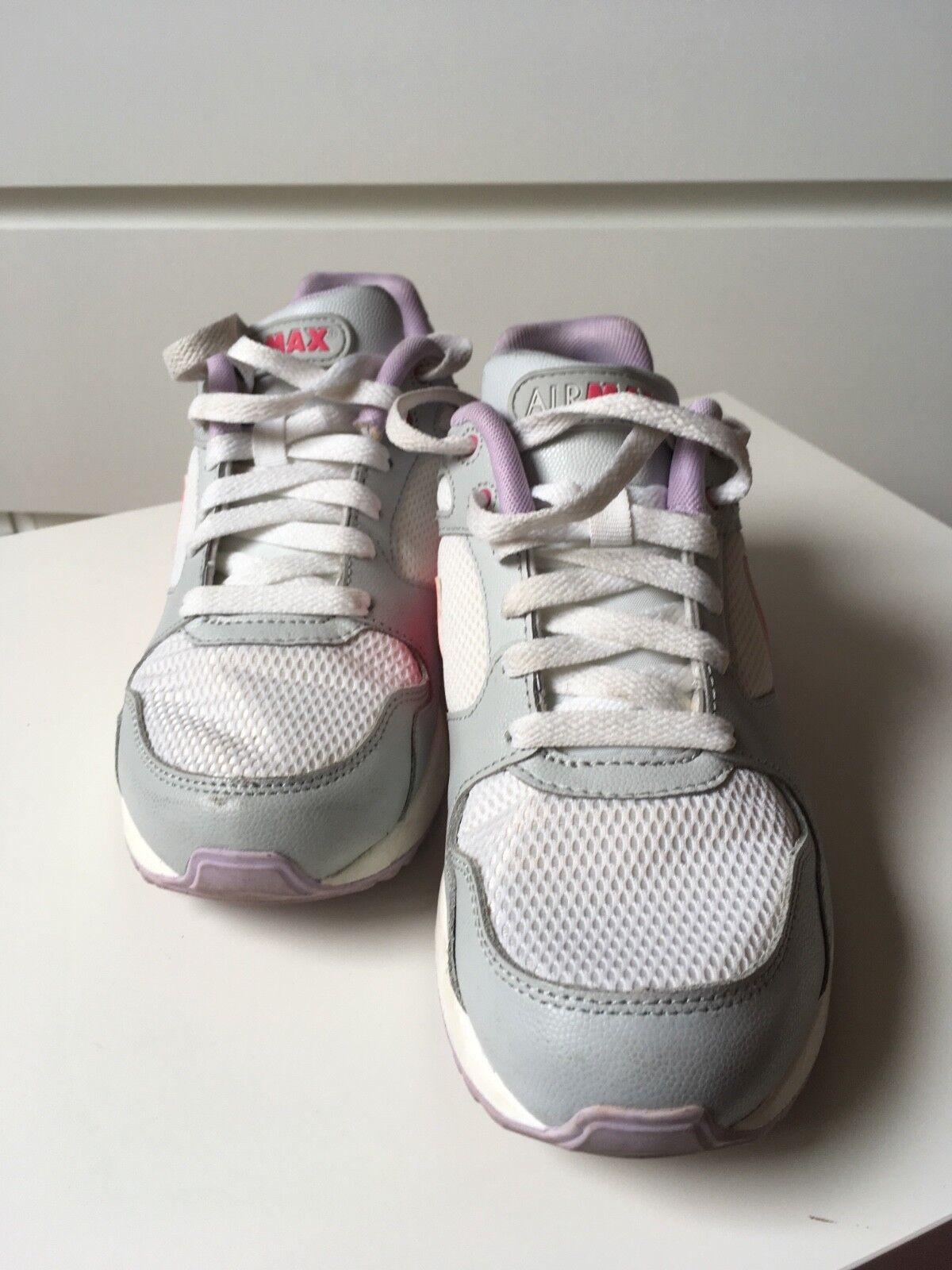 Nike Air Gebraucht, Max, Größe 38,5, Gebraucht, Air weiß, grau, pink 8d814a