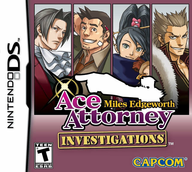 Ace Attorney Investigations: Miles Edgeworth NDS New Nintendo DS 1