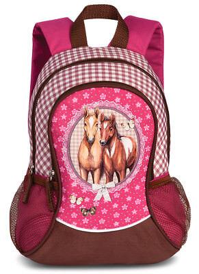 Fabrizio Rucksack Pferd Pink Rosa Kinderrucksack Kindergarten 550 Gute WäRmeerhaltung