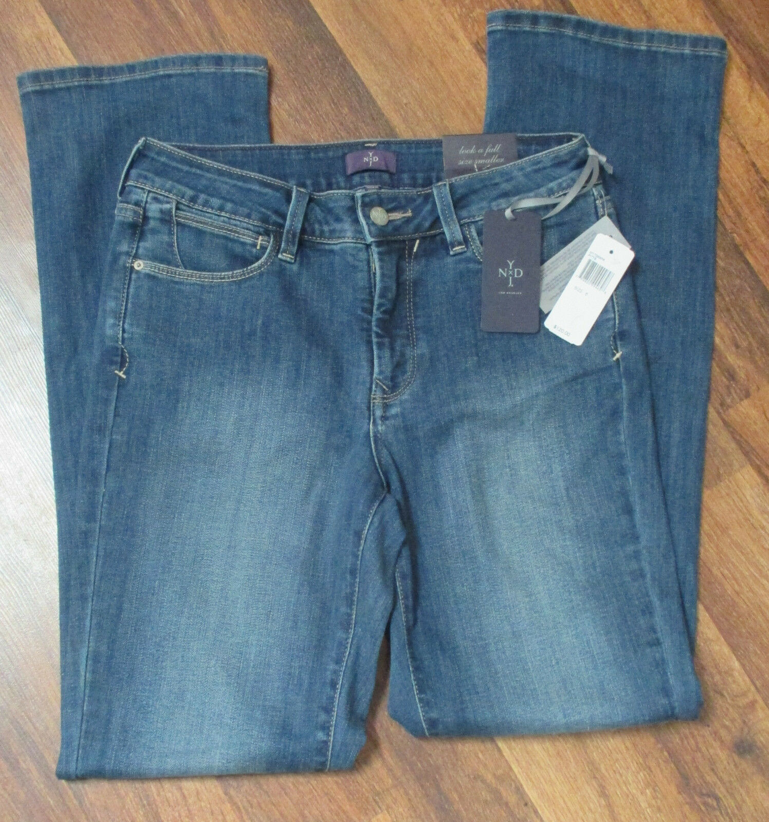 NEW NYDJ Not Your Daughters Jeans Marilyn Straight Leg Size 6798800994628