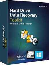 Restauración de datos del disco duro, SSD restore de datos, deshacer eliminación de archivos perdidos, recuperación de datos