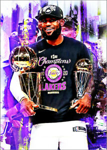 2020-Lebron-James-Los-Angeles-Lakers-25-25-Art-ACEO-Sketch-Print-Card-By-Q