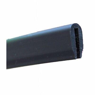 5 m Dichtungsprofil Dichtprofil Kantenschutz PVC  schwarz KB 5-7 mm 1C10-06