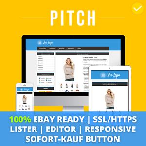 Pitch-Blue-ebay-Template-Verkaufsvorlage-Angebotsvorlage-Auktionsvorlage-HTML
