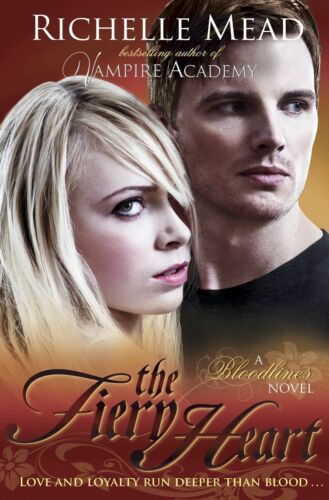 1 of 1 - Bloodlines: The Fiery Heart (book 4), Very Good Condition Book, Mead, Richelle,