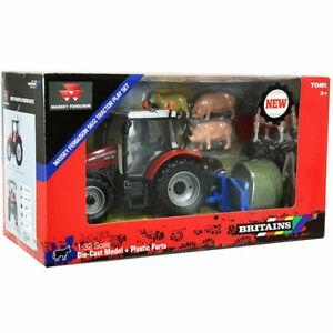 BRITAINS-FARM-43205-1-32-MASSEY-FERGUSON-TRACTOR-BUILD-YOUR-FARM-SET