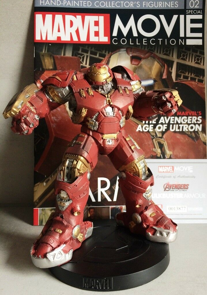 Marvel - film - kollektion besondere   2 hulkbuster rstung 'eaglemoss 18,5 cm
