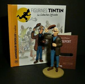 LARGE-5-034-TINTIN-FIGURINE-034-OFFICIAL-COLLECTION-034-M35-MONSIEUR-BOULLU-LE-MARBRIER