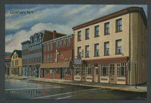 Goshen-NY-c-1989-Illus-Postcard-JOE-FIX-IT-039-S-BICYCLE-SHOP-by-Tom-LaBarbera