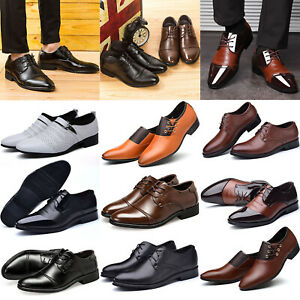 quality design cea7b 0029d Business-Schuhe Herren Leder Schnürer Patchwork Klassische ...