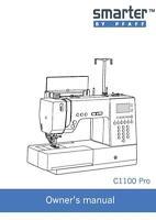 Pfaff Smarter C1100 Pro Instructions User Guide Manual Copy