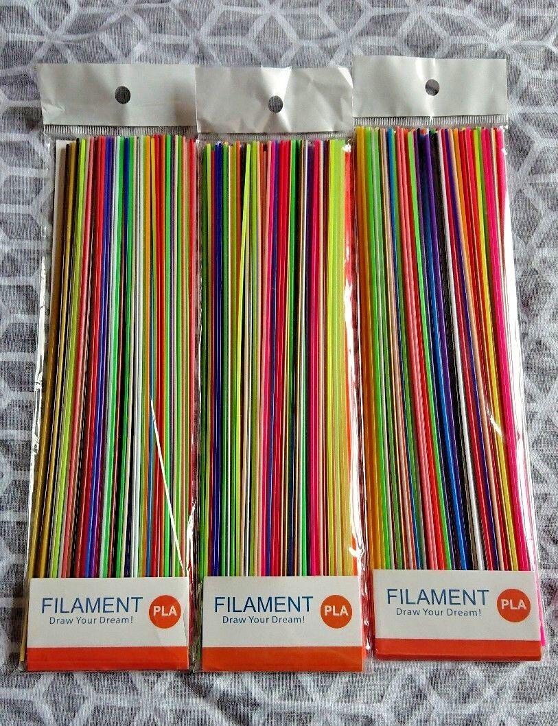 88PCS 22 Multi Colour PLA Filament 3D Pen Refill 1.75mm Christmas Xmas Crafts