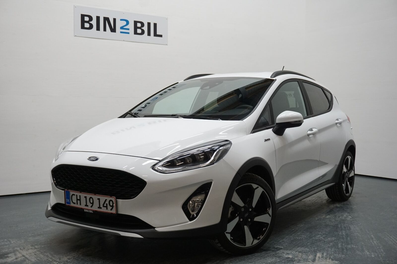 Ford Fiesta 1,0 EcoBoost Active II 5d - 199.900 kr.