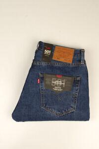 33360 Levi's Levi Strauss 501 Straight Leg Blau Herren Jeans Größe 32/32