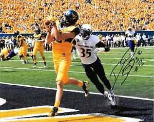 Details About David Sills Hand Signed West Virginia Mountaineers 8x10 Photo W Coa Wvu