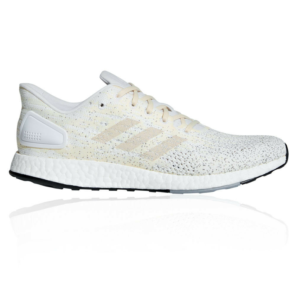 Adidas Mens PureBOOST DPR Running shoes Trainers Sneakers White Sports