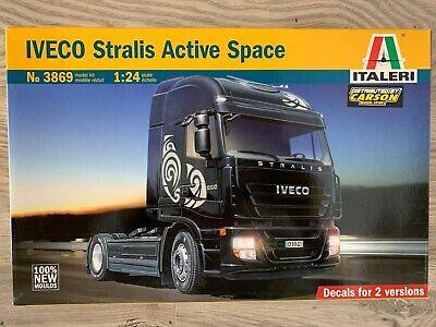 OVP NEU Italeri-3869-1:24 IVECO Stralis Active Space